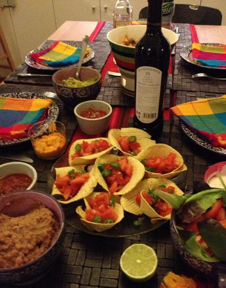 Table mexicaine opé Blogueurs